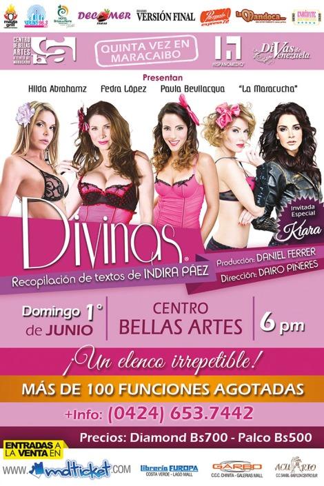 DIVINAS Poster