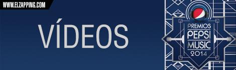 ganadores premios pepsi music 2014 - vídeos
