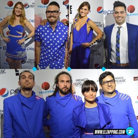 blue carpet - azul pepsi
