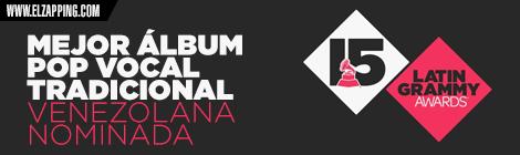 venezolanos latin grammy 2014 - MEJOR ÁLBUM POP VOCAL TRADICIONAL