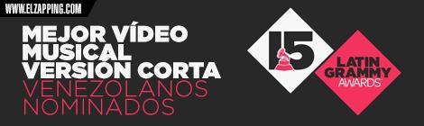 venezolanos latin grammy 2014 - MEJOR VÍDEO MUSICAL VERSIÓN CORTA