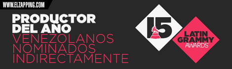 venezolanos latin grammy 2014 - PRODUCTOR DEL AÑO