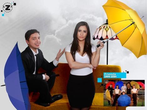 El Zapping - Homenaje a Friends - Héctor Palmar y Rachel Perozo