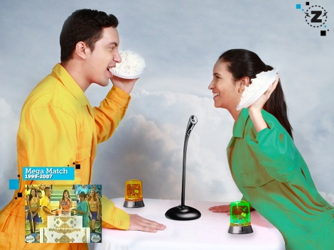 El Zapping - Homenaje a Mega Match - Héctor Palmar y Rachel Perozo