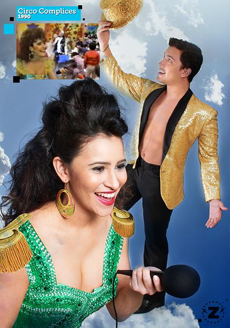 El Zapping - Circo Complices - Héctor Palmar - Rachel Perozo