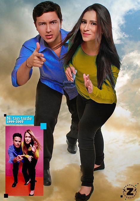 El Zapping - Ni tan tarde - Hector Palmar - Rachel Perozo