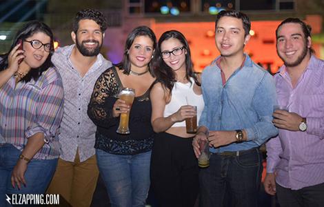 Aura Ortega, Jesús Reyes, Mariana Pirela, Rachel Perozo, Héctor Palmar y Leandro Morán.