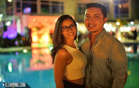 Rachel Perozo y Héctor Palmar